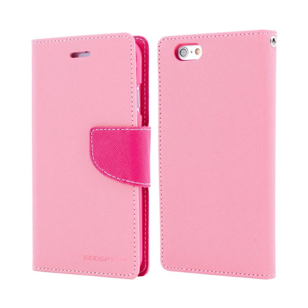 Goospery Fancy Diary pouzdro pro iPhone 5/5S/SE růžové