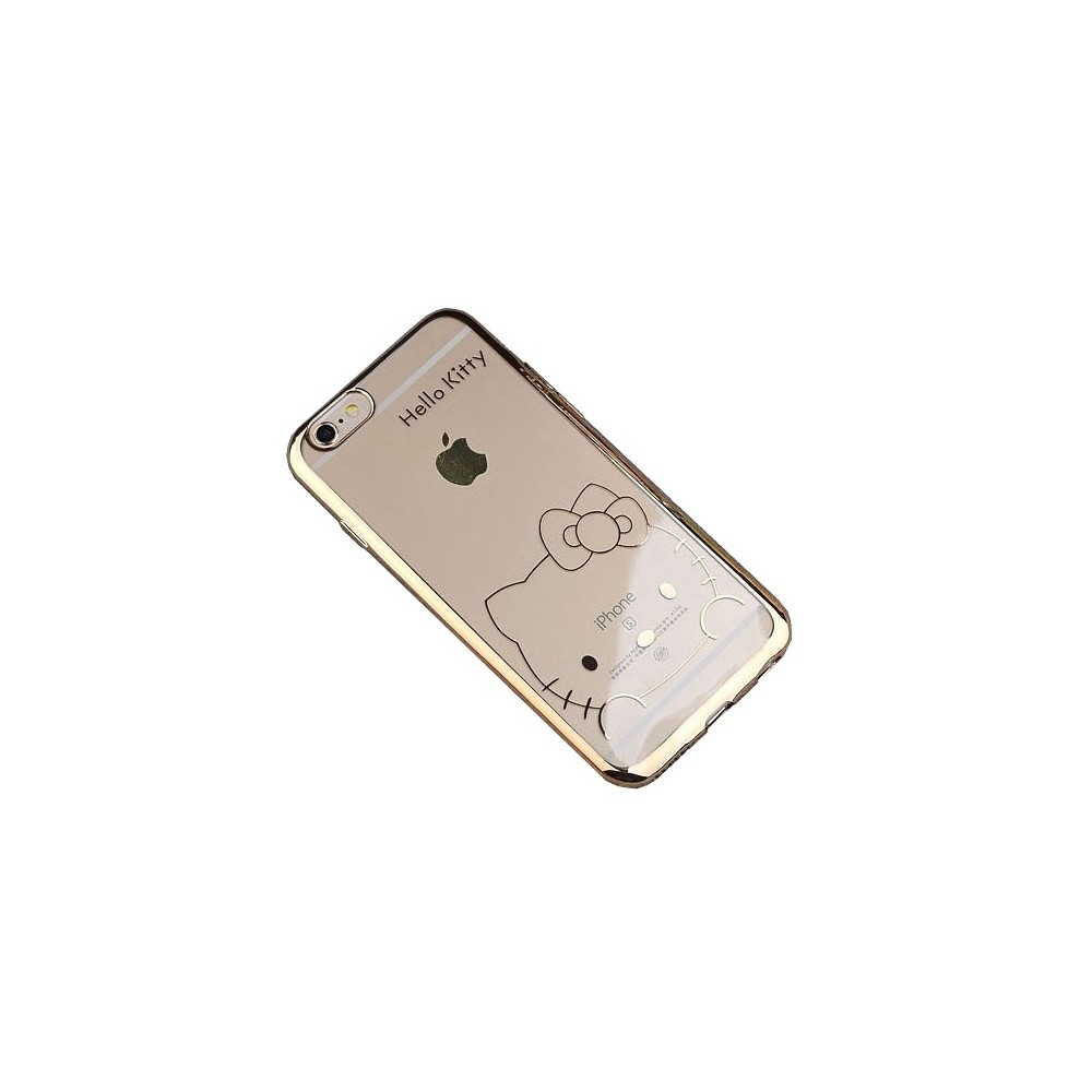 Clip:ON Blink Shield Hello Kitty pouzdro pro iPhone 6/6S, Champagne Gold