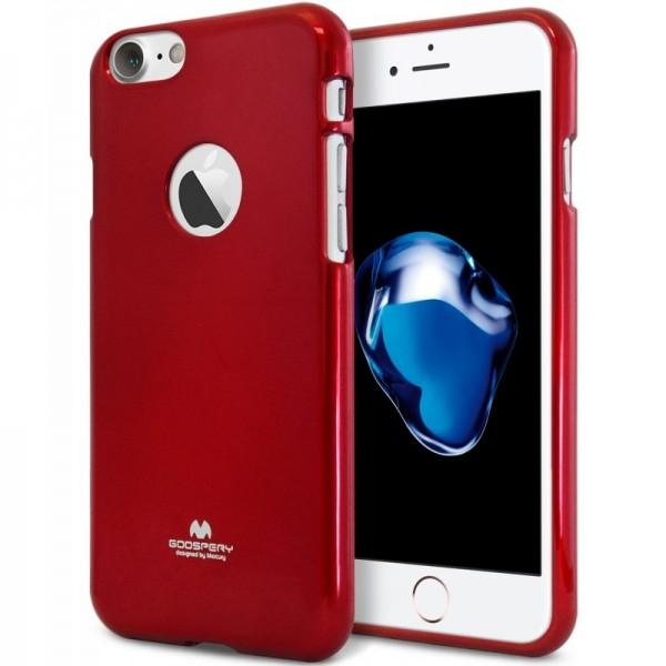 Goospery Jelly Case Pearl pro iPhone 7 červené