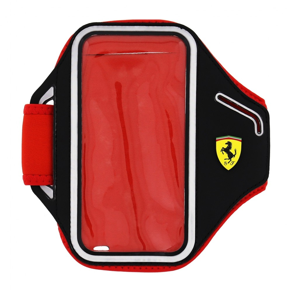 Pouzdro Ferrari Armband sportovní na paži mobilní telefon mobil smartphone od 4.0 černé