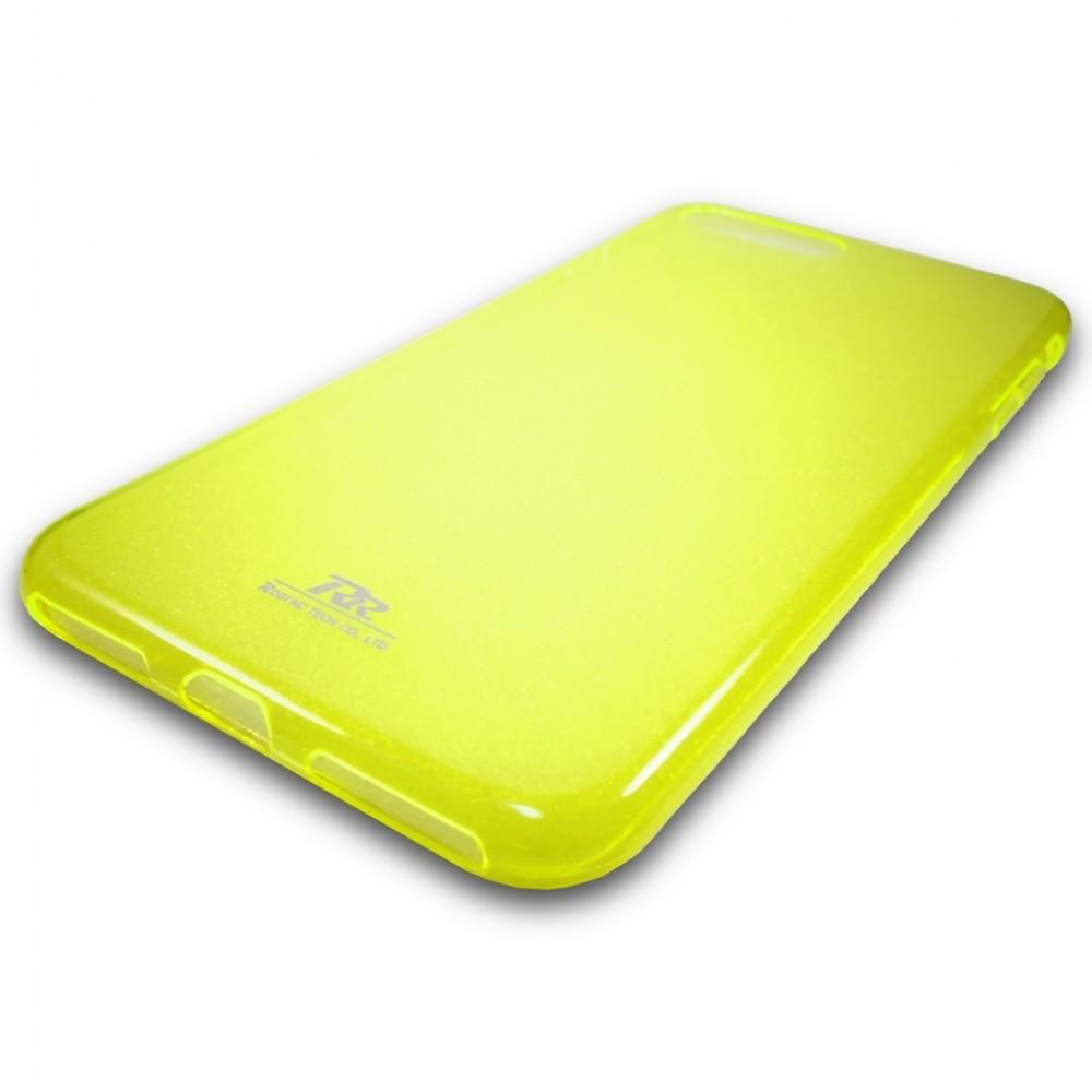 Roar tenký silikonový kryt pro iPhone 7/8 Plus, Žlutá