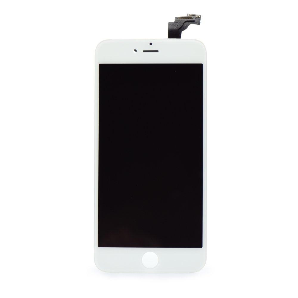 Kompletní LCD panel - displej pro Apple iPhone 6 Plus, Barva Bílá