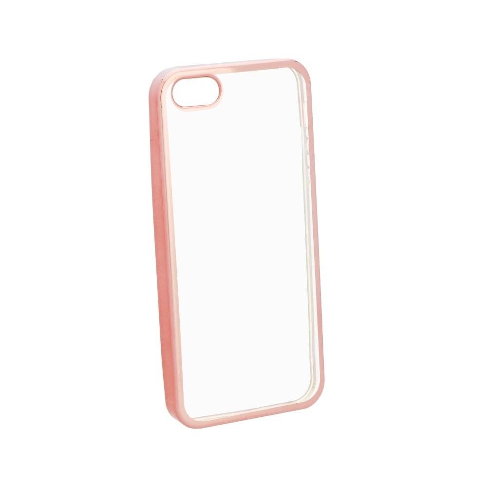 Kryt Electro na iPhone 5/5S/SE, Barva Rose Gold
