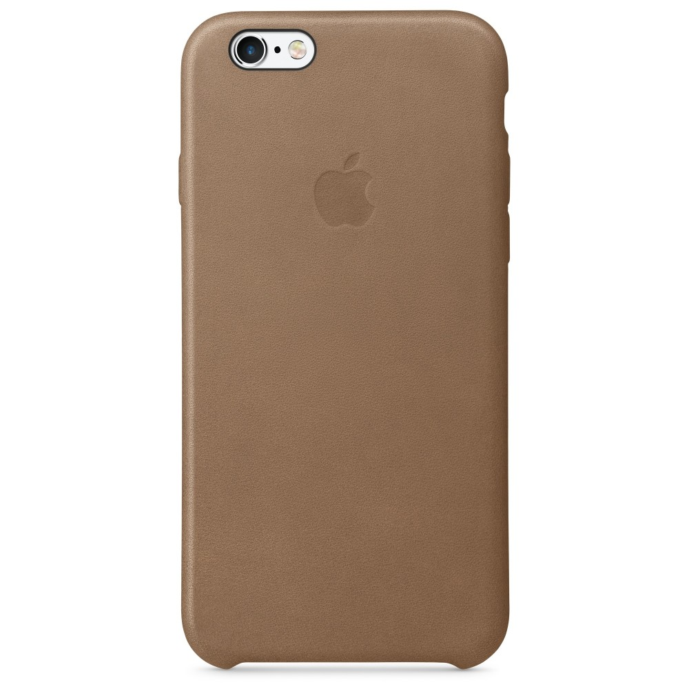 Pouzdro Apple iPhone 6s Leather Case hnědá