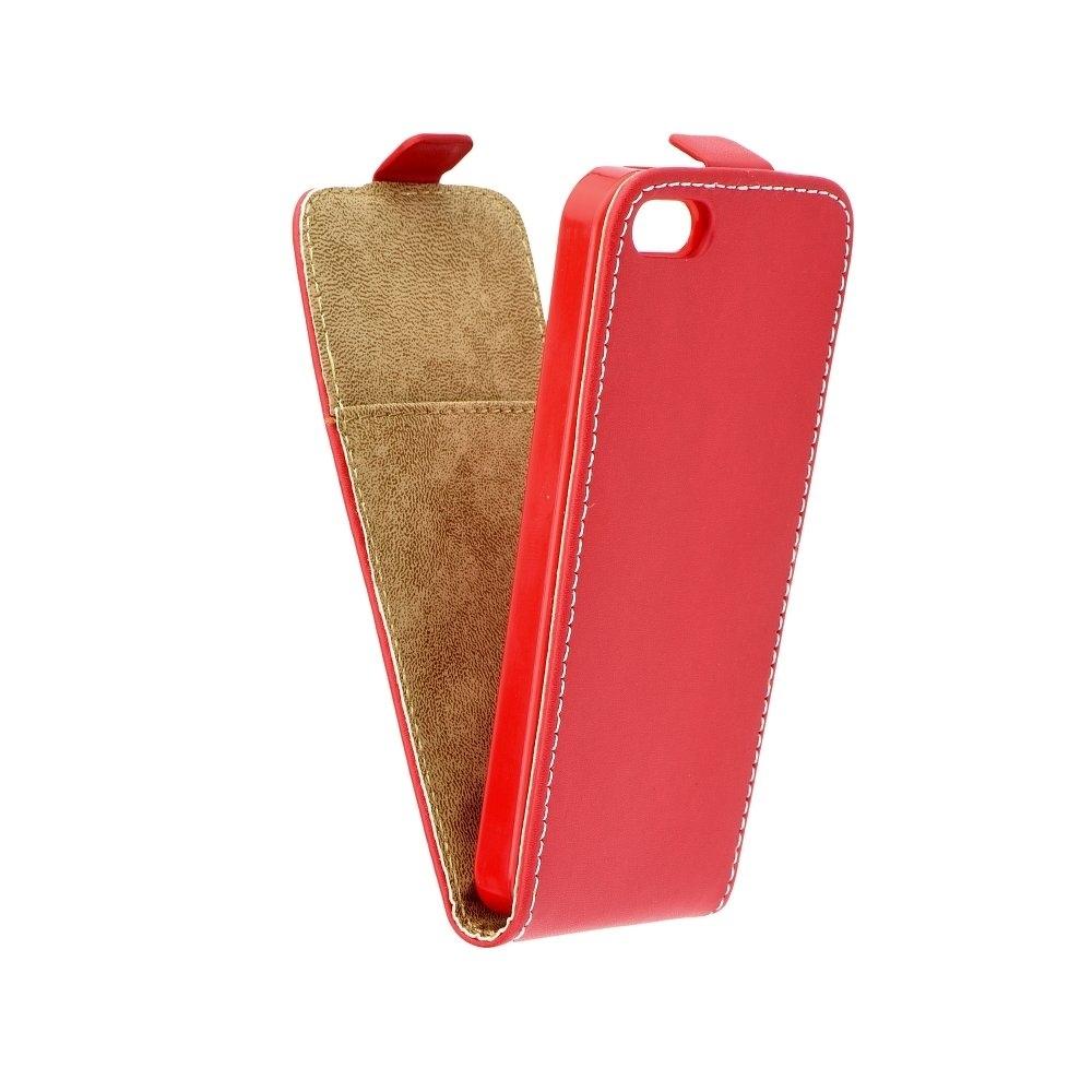 Pouzdro Forcell Flip iPhone 7, Červená