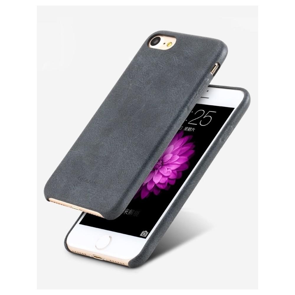 Kryt USAMS Bob Leather na iPhone 7, Barva Šedá