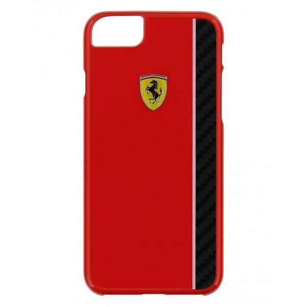 Kryt Ferrari Real Carbon Hard Case pro iPhone 7