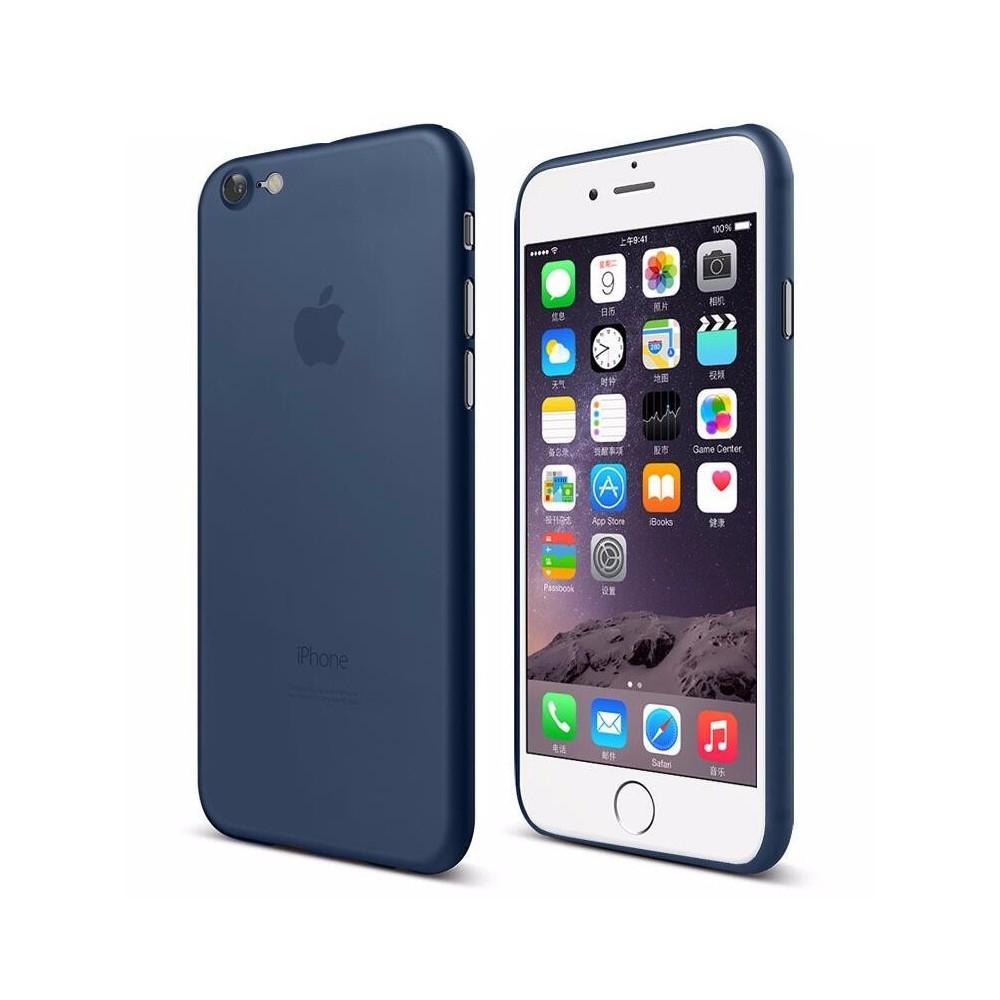 Cafele Twiggy Matt kryt pro iPhone 7 Plus, Modrá
