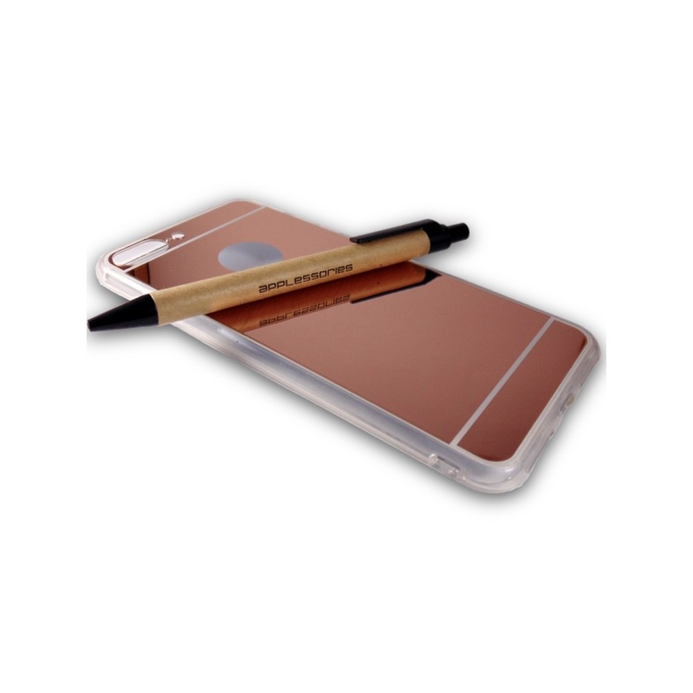 Kryt Forcell MIRRO pro iPhone 7 Plus, Barva Rose Gold