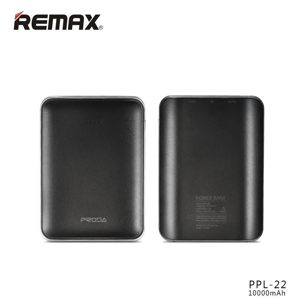 Power Bank REMAX Mink PPL-22 10000mAh, Černá