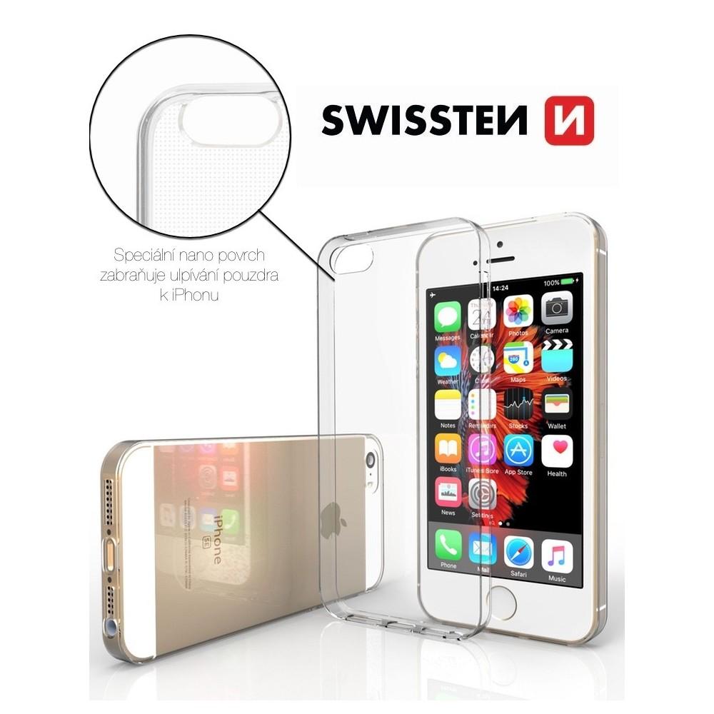 Průhledný kryt SWISSTEN pro iPhone 5/5S/SE