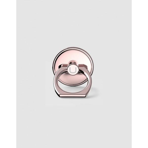 Držák na prst USAMS RING HOLDER růžově-zlatý