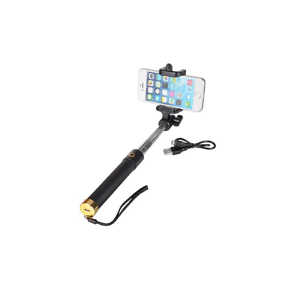 Locust Selfie Stick Bluetooth, Barva Zlatá