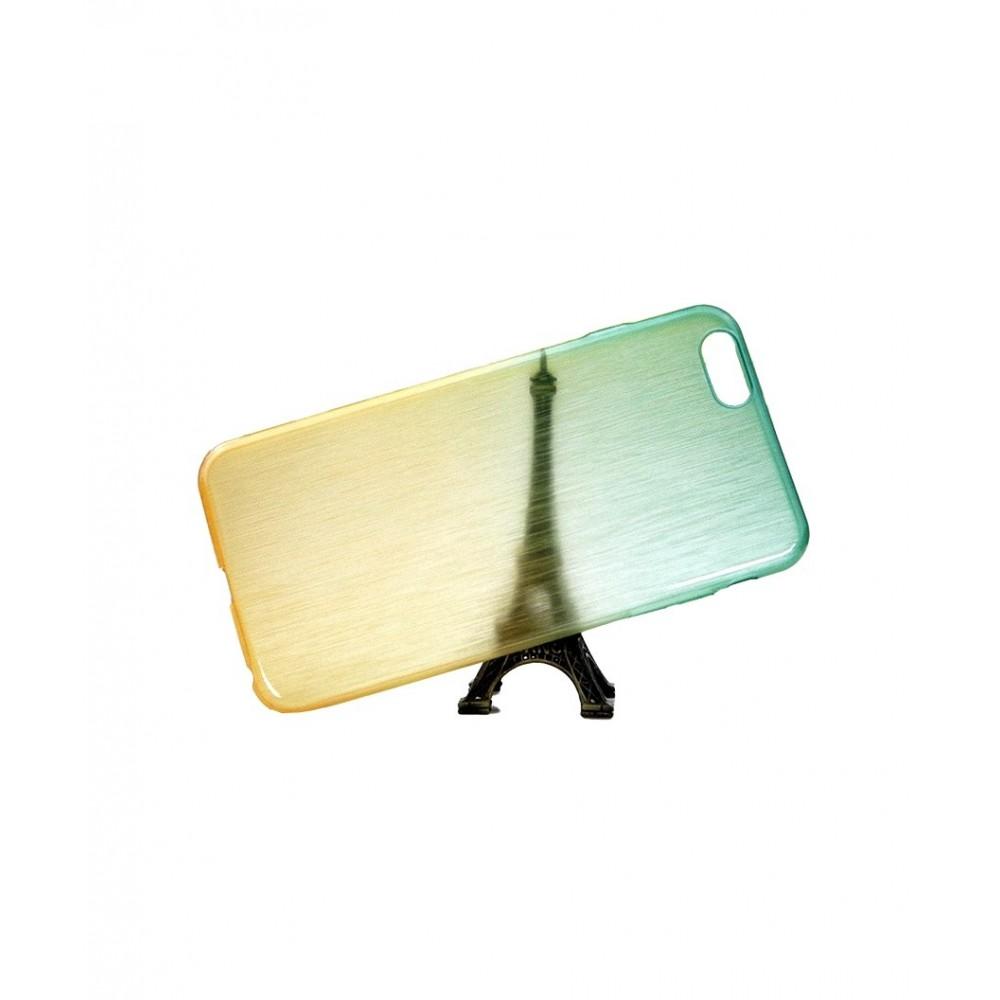 Pouzdro Jelly Case RAINBOW iPhone 6/6S Plus, Barva Zelená