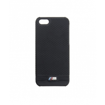 Kryt BMW Perforated Leather Case pro iPhone 5/5S/SE