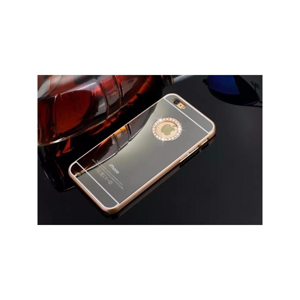 Kryt pro iPhone 5S zrcadlový, zlatý