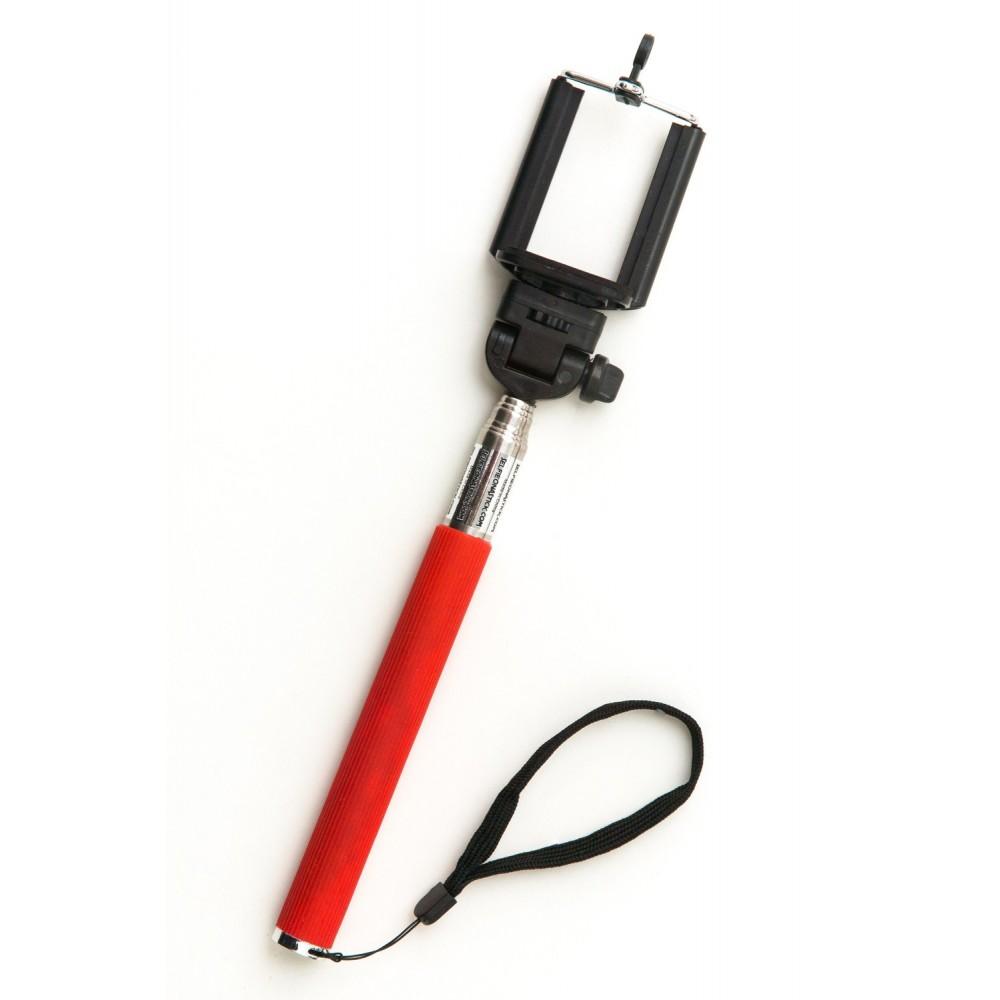Teleskopická selfie tyč, Barva Červená