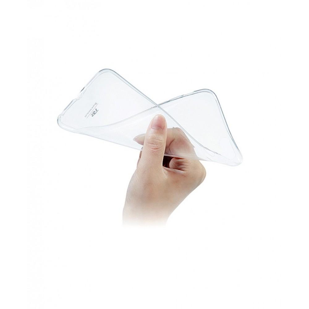 Roar tenký silikonový kryt pro iPhone 7/8 Plus, Průhledná