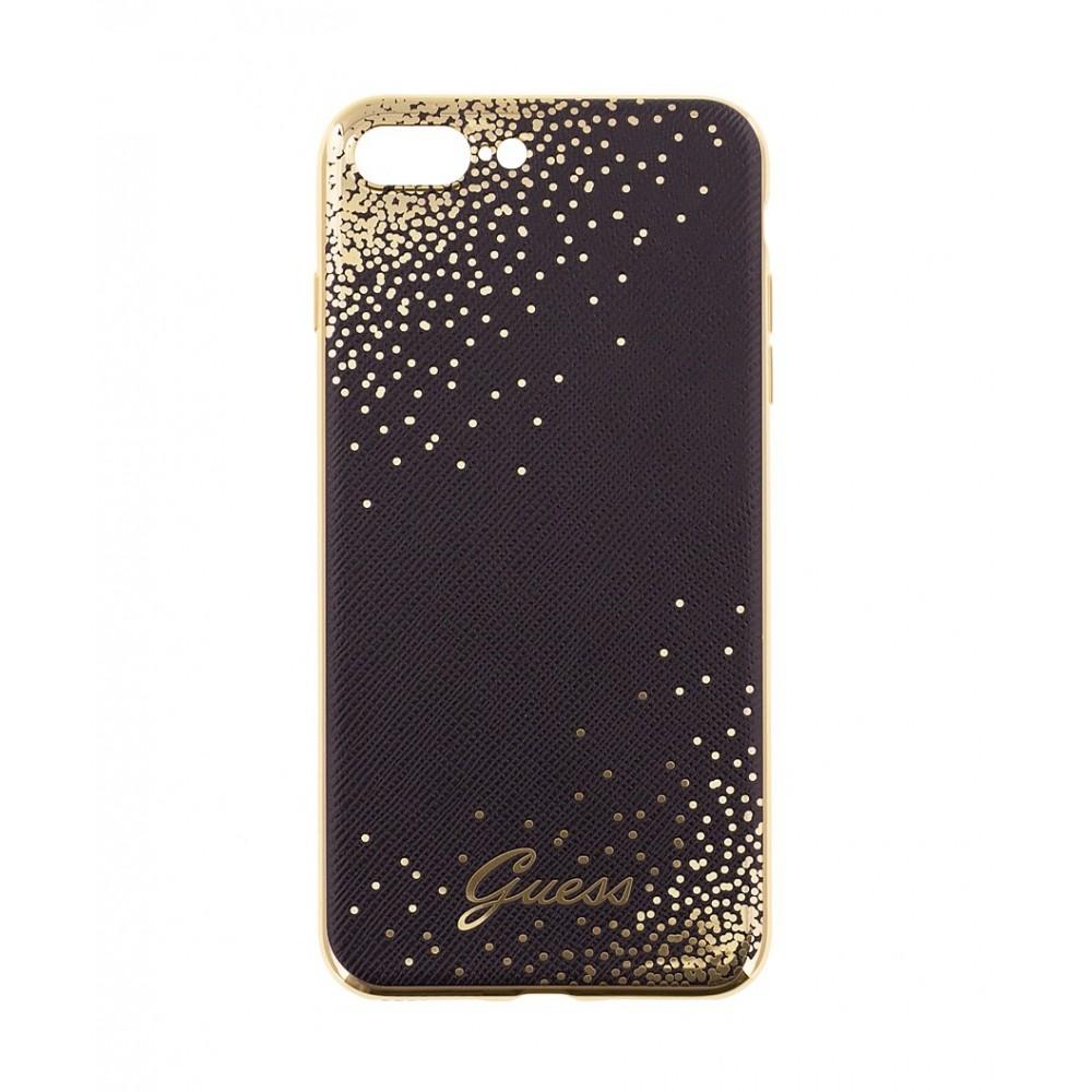 Guess Dots pouzdro pro iPhone 7 Plus, Barva Černá
