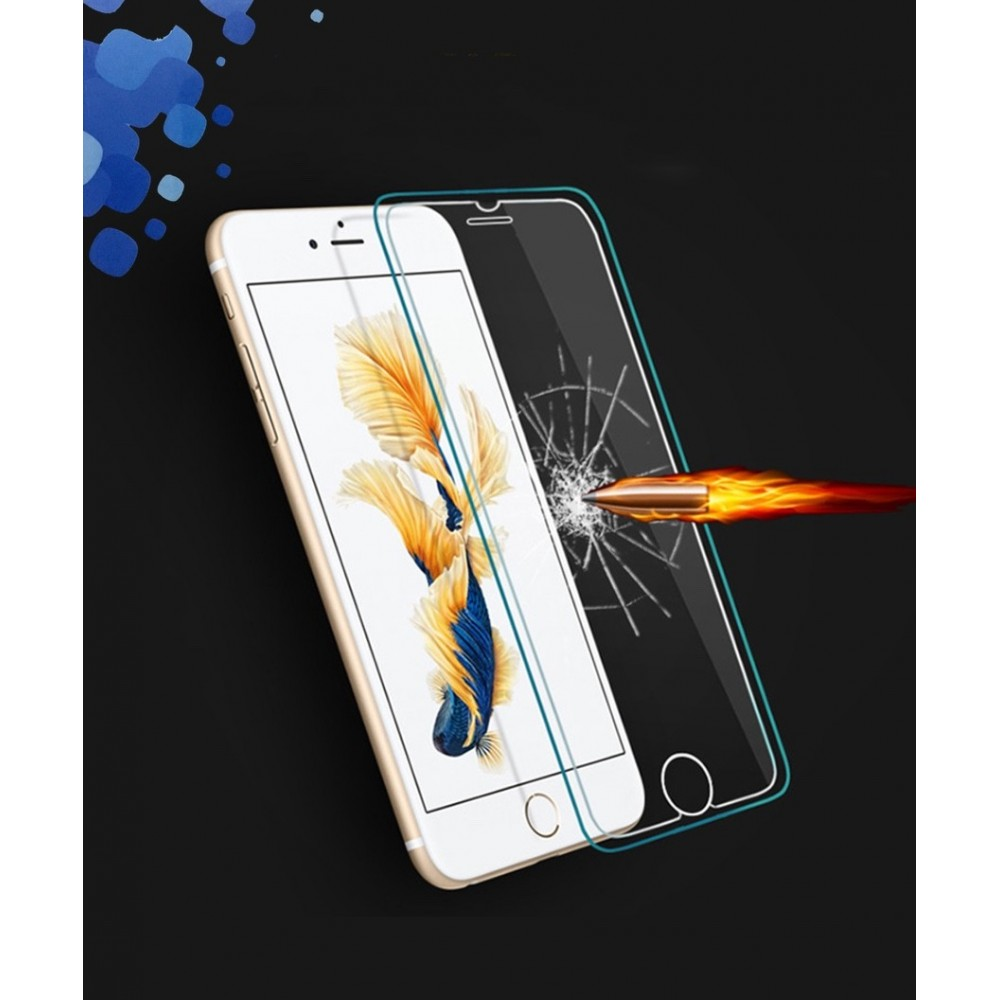 Tvrzené sklo Blue Star 3D Silicon Edge na iPhone 7