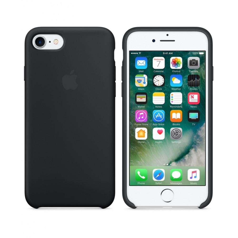 Apple iPhone 7 Silicone Case Black