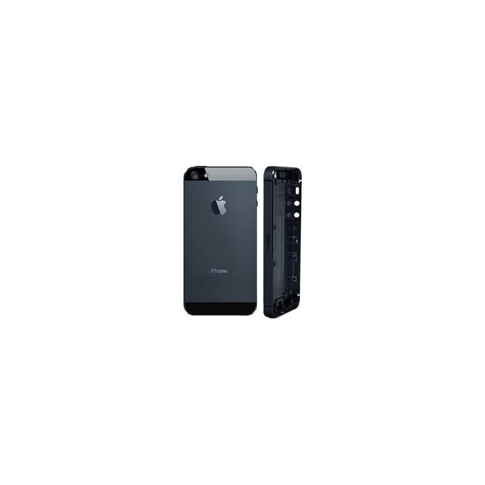 Kryt Apple iPhone 5 Zadní Kryt vč. Středu černý
