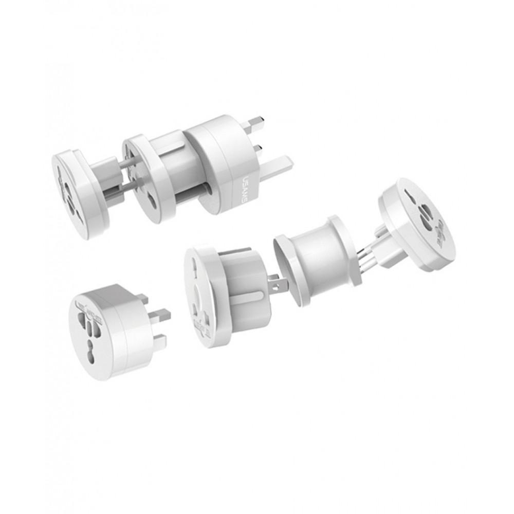 USAMS Plug Socket - univerzální zásuvkové adaptéry