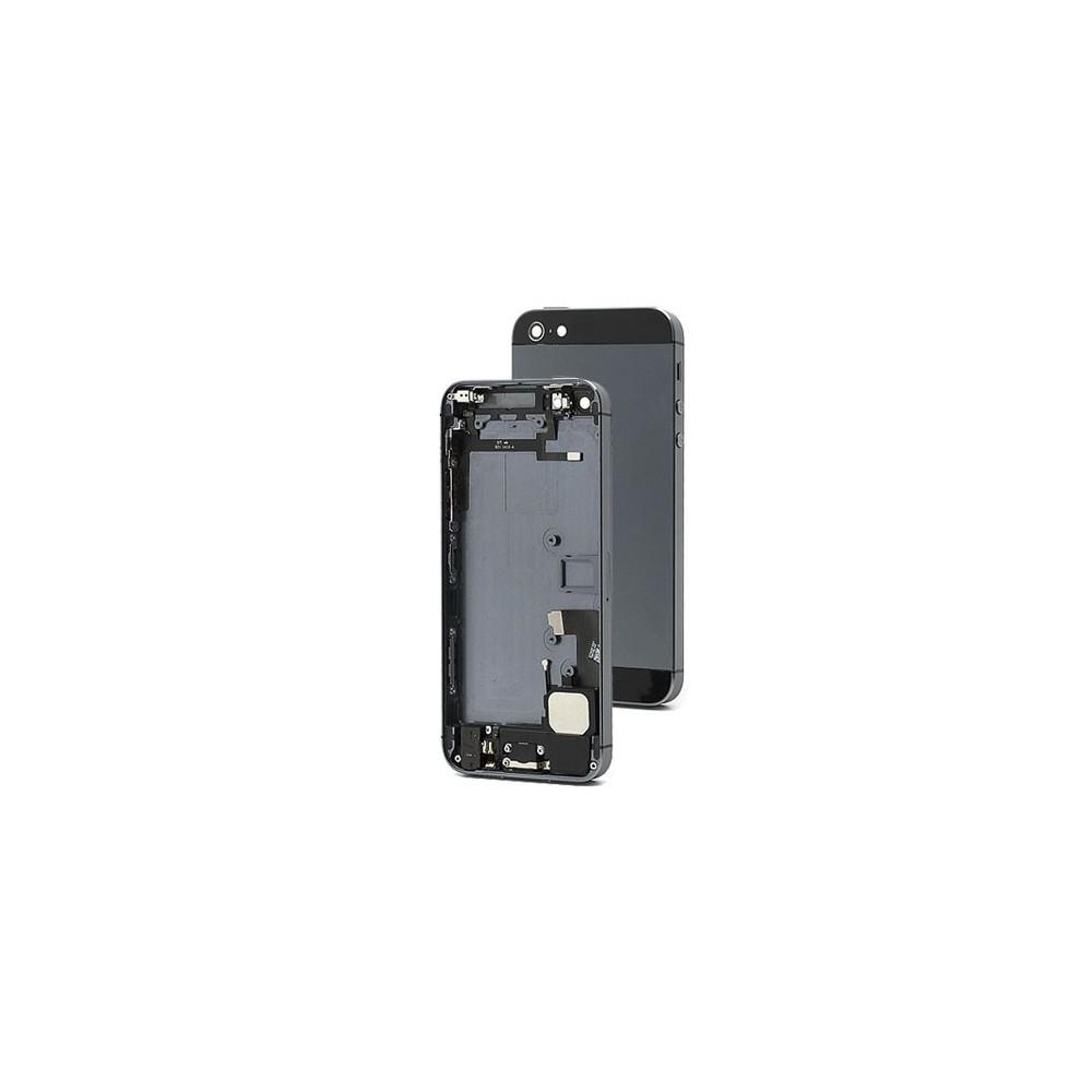 Kryt iPhone 5S Zadní + kovový rám černý