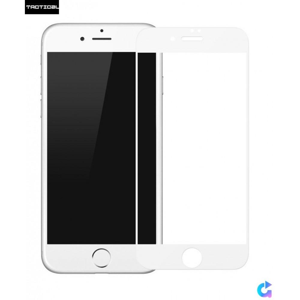 Tvrzené sklo Tactical 3D na iPhone 7, Barva Bílá