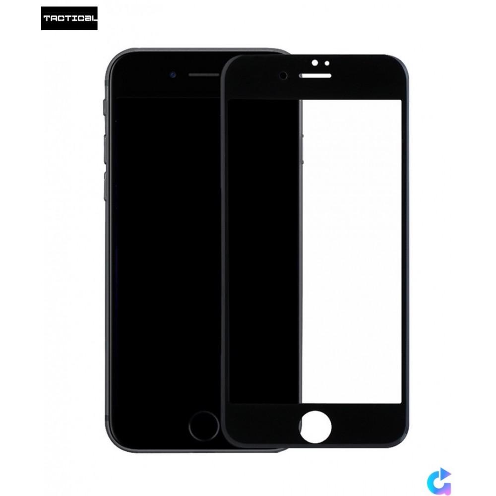 Tvrzené sklo Tactical 3D na iPhone 7, Barva Černá