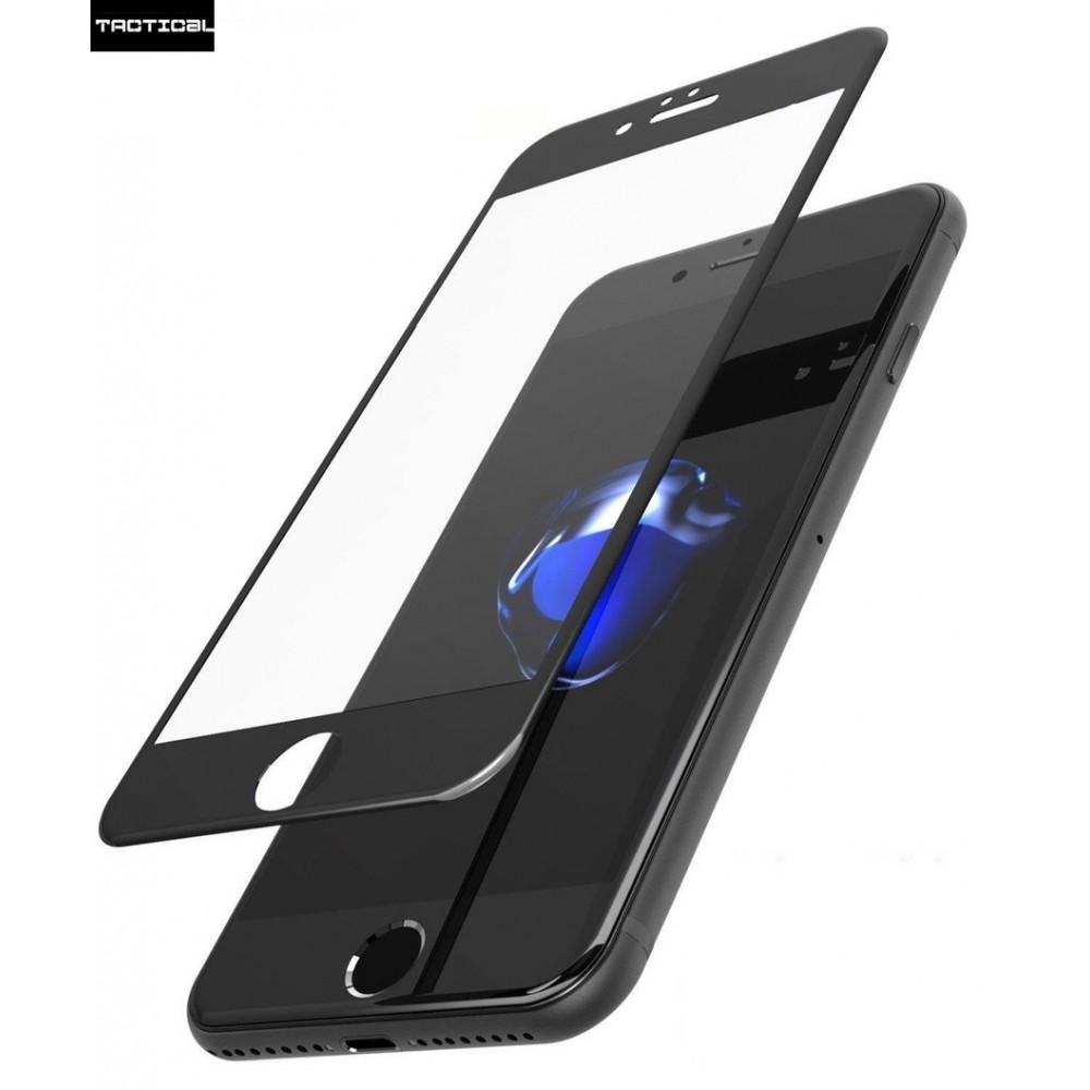 Tvrzené sklo Tactical 3D na iPhone 7 Plus, Barva Černá