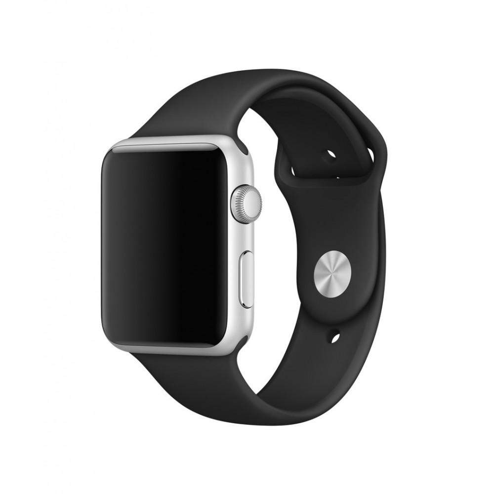4-OK Sportovní řemínek pro Apple Watch (42mm), Černá