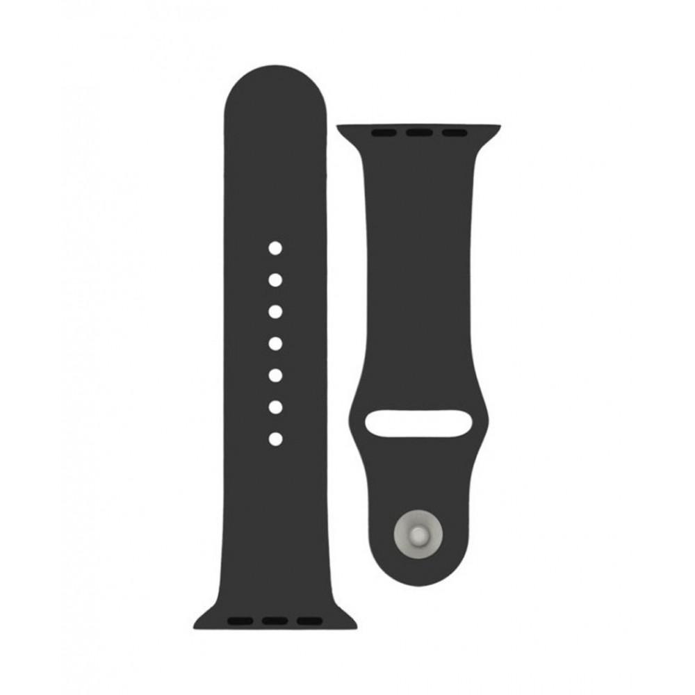 4-OK Sportovní řemínek pro Apple Watch (38mm), Černá