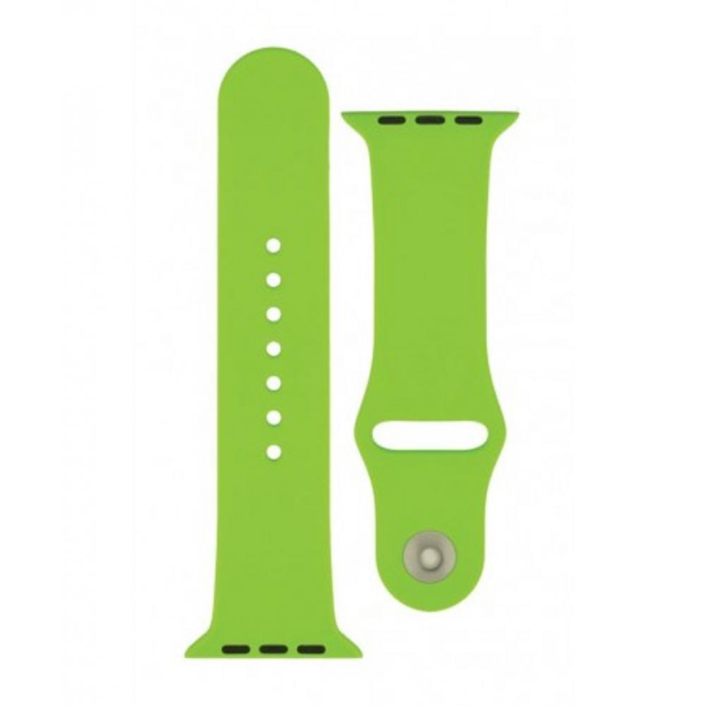 4-OK Sportovní řemínek pro Apple Watch (38mm), Zelená