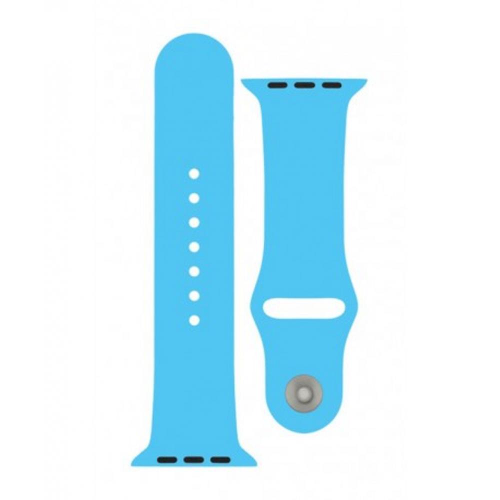 4-OK Sportovní řemínek pro Apple Watch (38mm), Modrá
