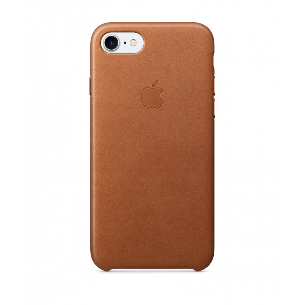 Pouzdro Apple iPhone 7 Leather Case - Saddle Brown