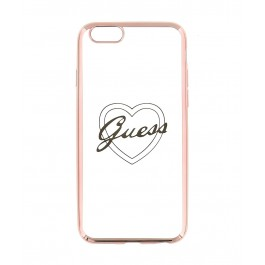 Guess Signature Heart TPU Case pro iPhone 6/6S Plus