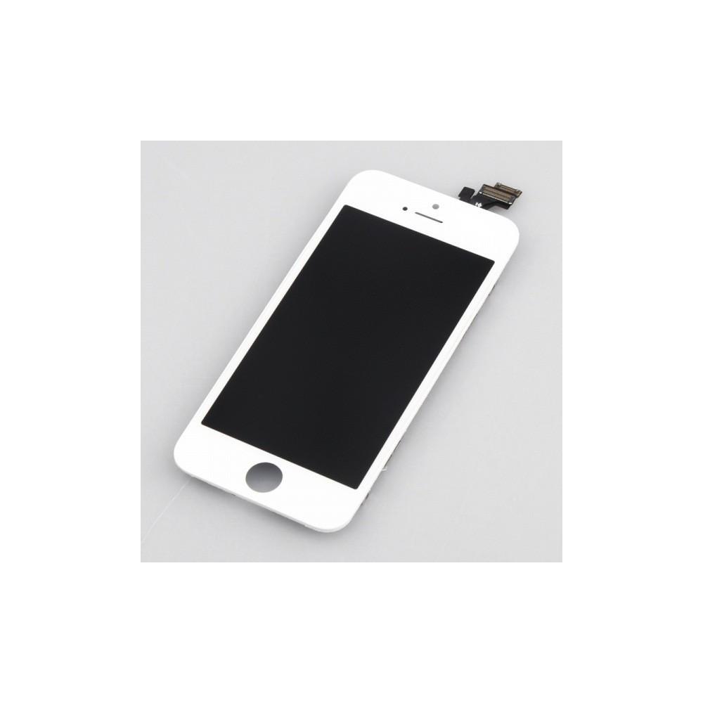 Kompletní LCD panel - displej pro Apple iPhone 5, Barva Bílá