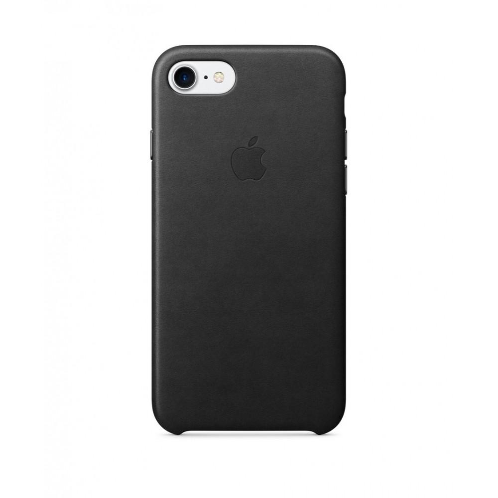 Apple iPhone 7 Leather Case Černá