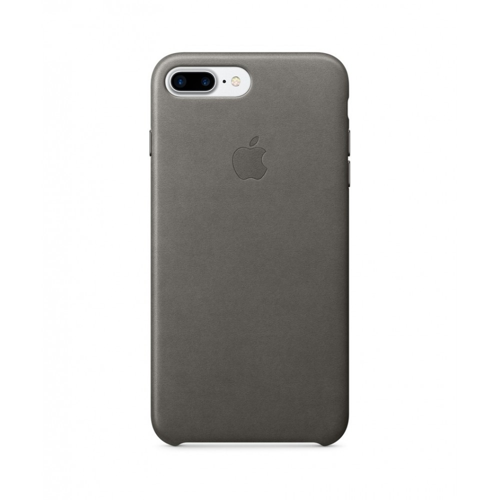 Pouzdro APPLE iPhone 7 Plus Leather Case - Storm Gray MMYE2ZM/A