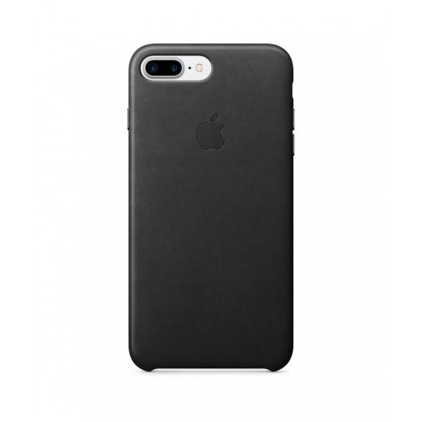 Apple iPhone 7 Plus Leather Case Černá