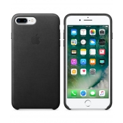 Apple iPhone 8 Plus / 7 Plus Leather Case Černá