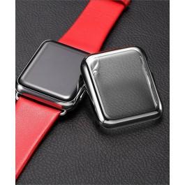 Ultra Slim kryt na Apple Watch 38mm stříbrný