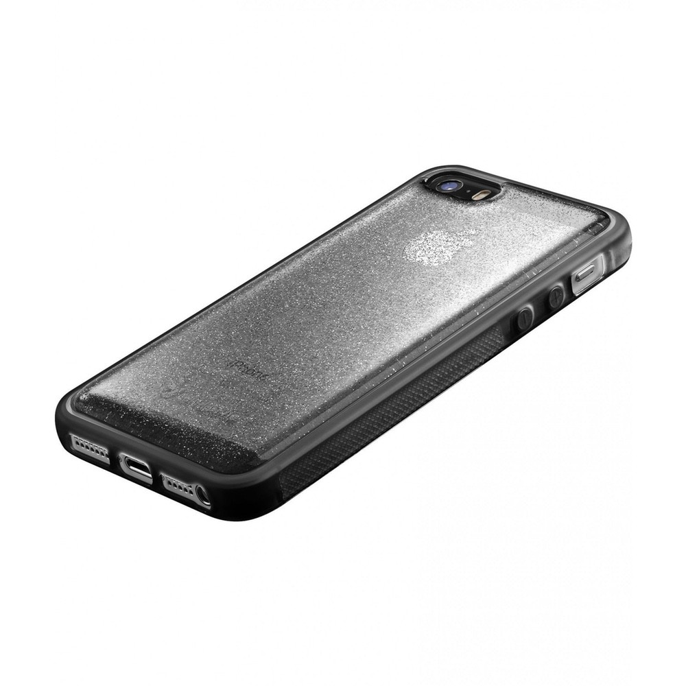 Pouzdro CellularLine SELFIE CASE Apple iPhone 5/5S/SE, Černá