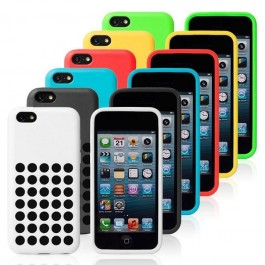 Dotted case for iPhone 5C