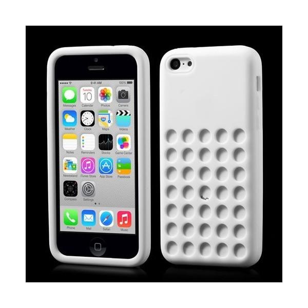 Děrované silikonové pouzdro pro Apple iPhone 5C