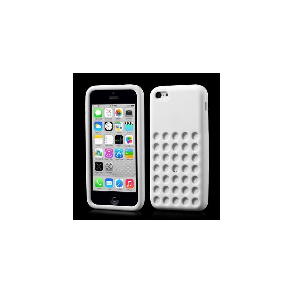Děrované pouzdro na iPhone 5C, Barva Bílá