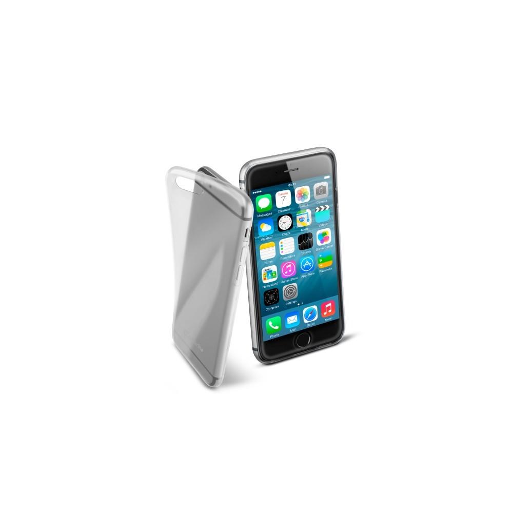 Pouzdro CellularLine Fine Apple iPhone 6/6S čiré, Průhledná