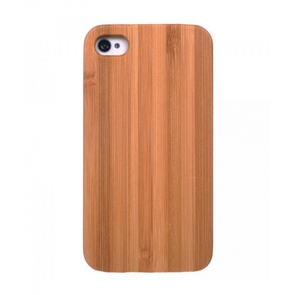 Wooden Case for iPhone 4/4S - Bamboo