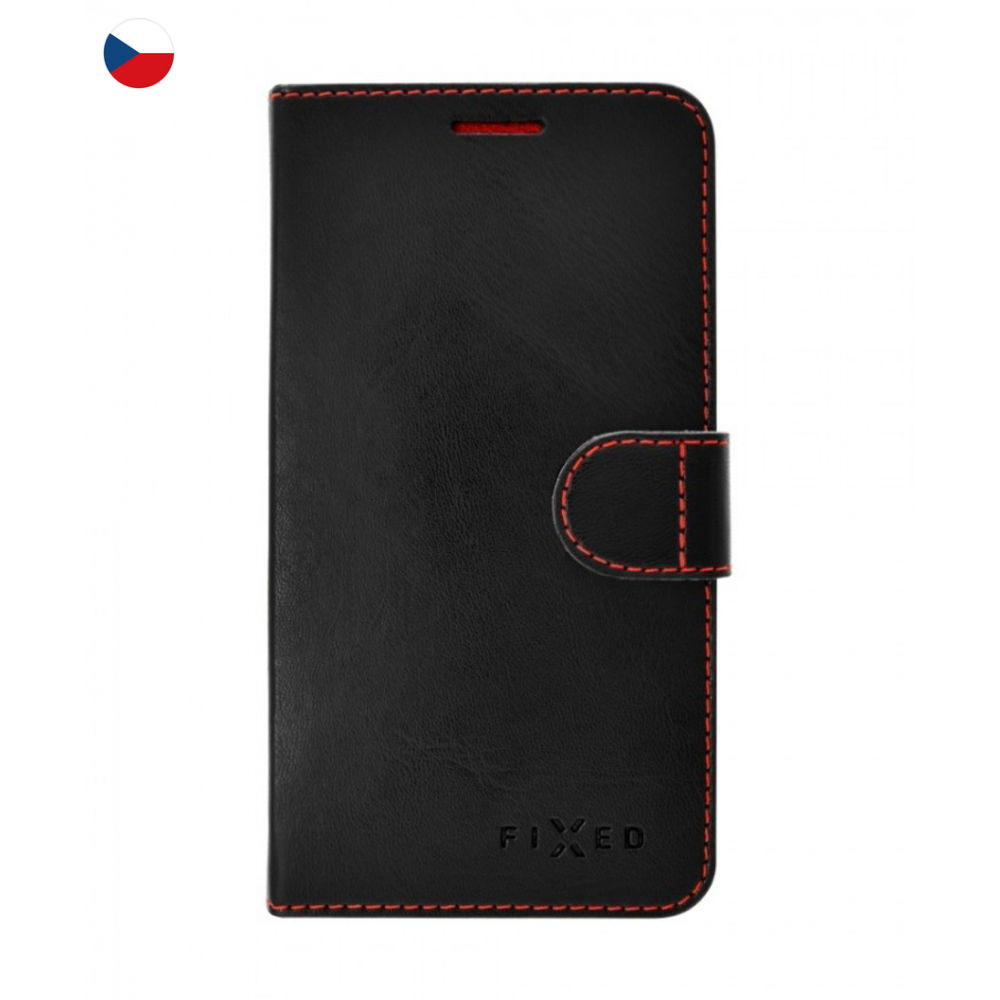 Fixed Fit Booktype Case for iPhone 7 black